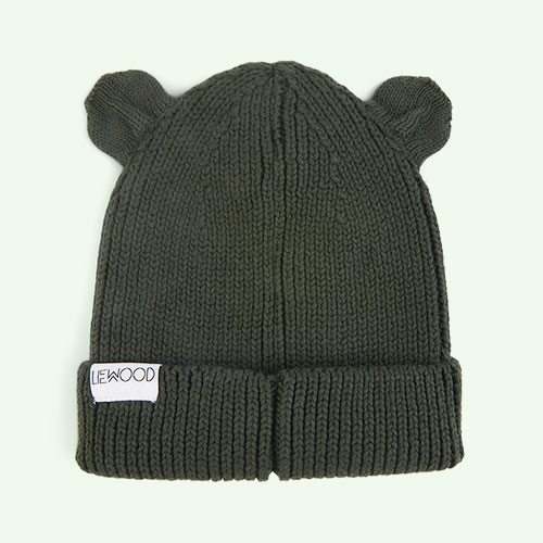 Hunter Green Liewood Gina Beanie Hat