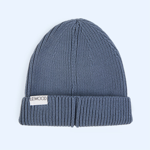 Blue Wave Liewood Ezra Beanie Hat