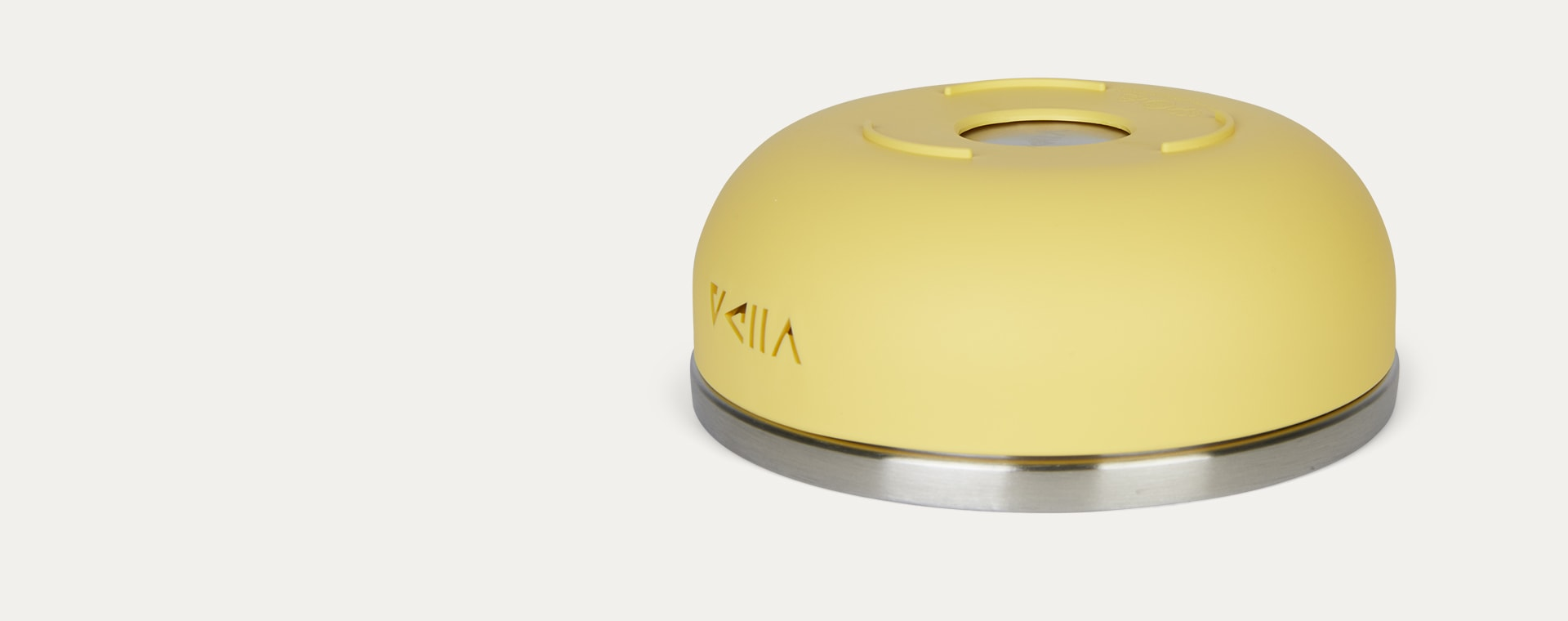 Lemon Yellow VIIDA Soufflé Antibacterial Stainless Steel Bowl