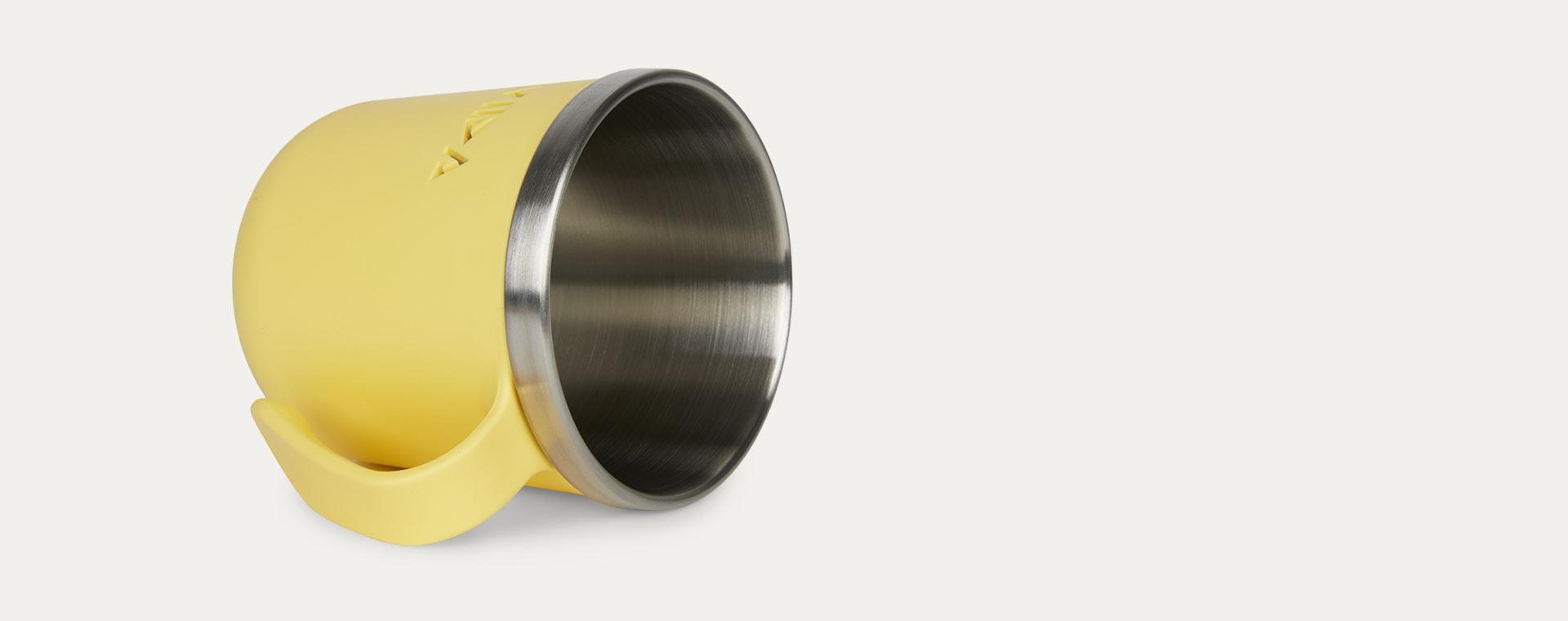 Lemon Yellow VIIDA Soufflé Antibacterial Stainless Steel Cup
