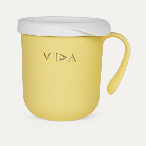 Lemon Yellow VIIDA Soufflé Antibacterial Stainless Steel Cup