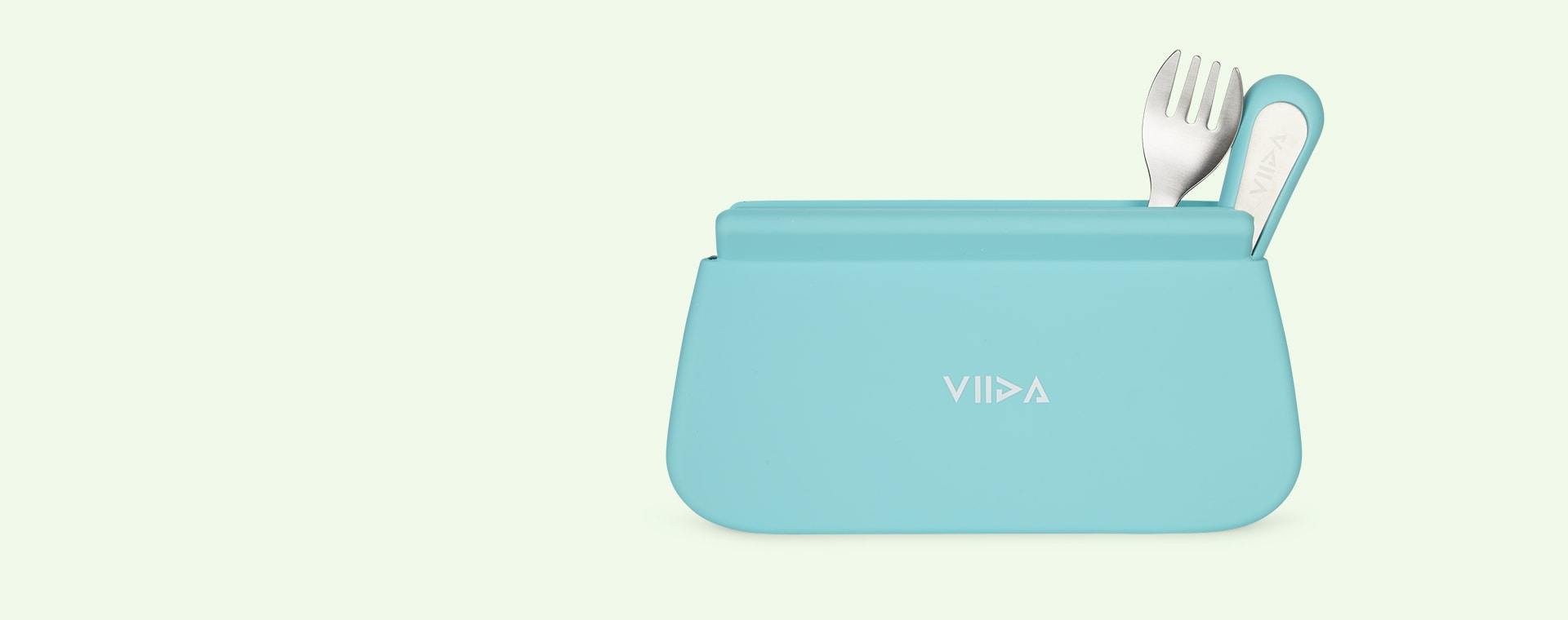 Turquoise Green VIIDA Multipurpose Travel Pouch