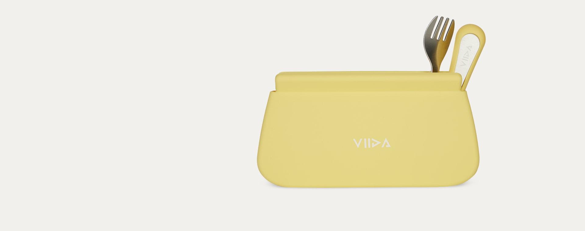 Lemon Yellow VIIDA Multipurpose Travel Pouch