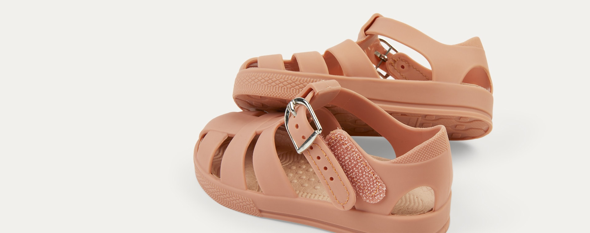 Coral KIDLY Label Jelly Sandal