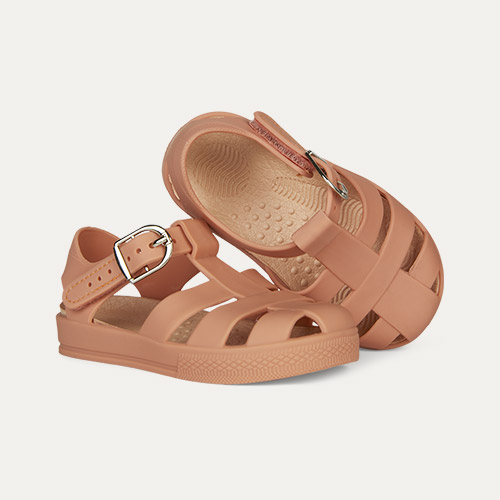 Coral KIDLY Label Jelly Sandal