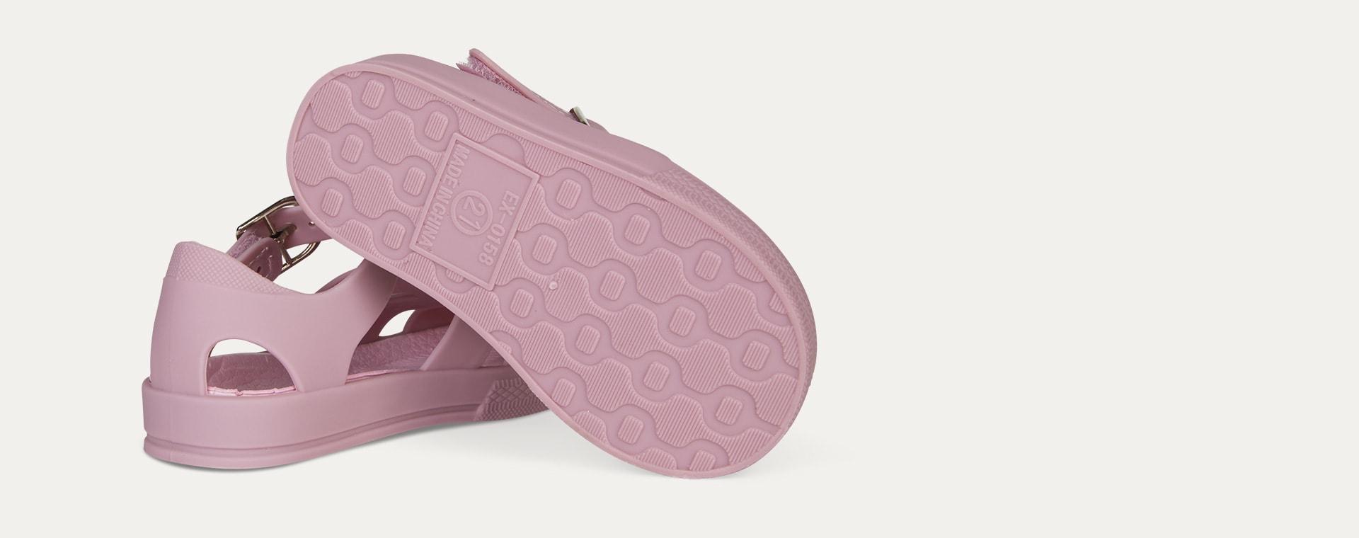 Rose KIDLY Label Jelly Sandal