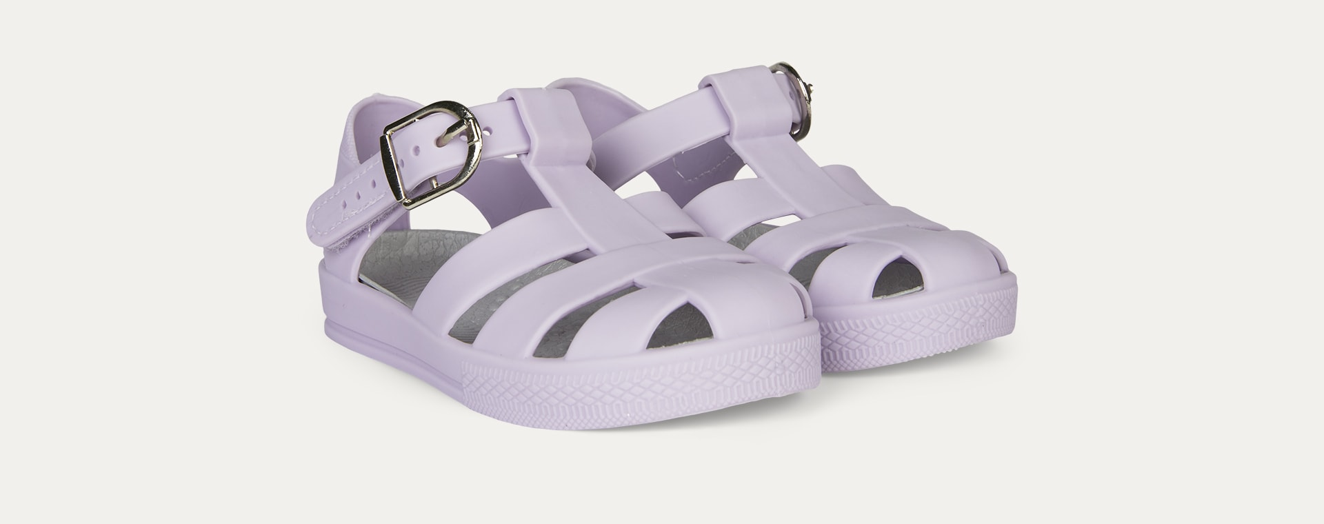 Orchid KIDLY Label Jelly Sandal