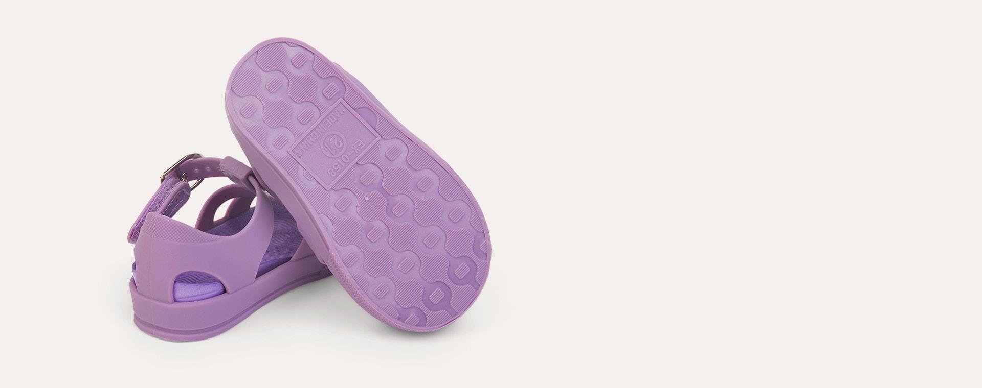 Thistle KIDLY Label Jelly Sandal
