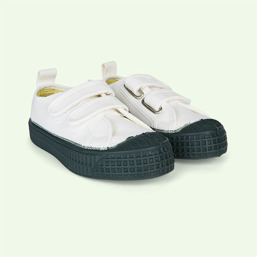 White/Green Novesta Star Master Eco Trainer