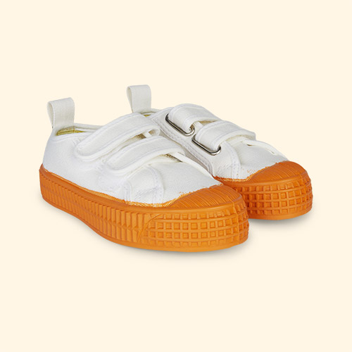 White/Orange Novesta Star Master Eco Trainer