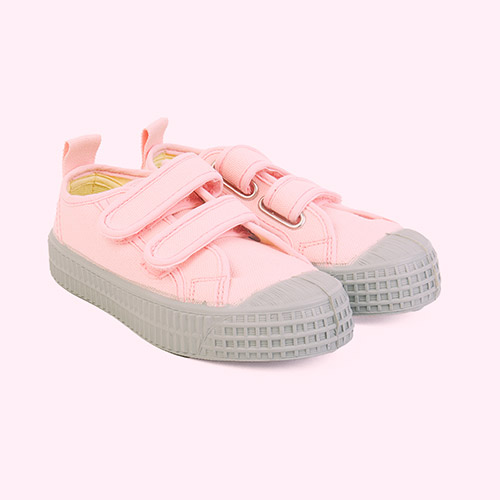 Pink/Grey Novesta Star Master Eco Trainer