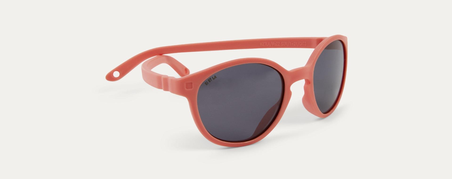 Grapefruit Ki ET LA WAZZ Wayfarer Sunglasses