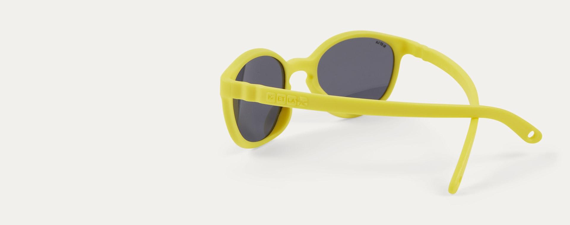 Yellow Ki ET LA WAZZ Wayfarer Sunglasses