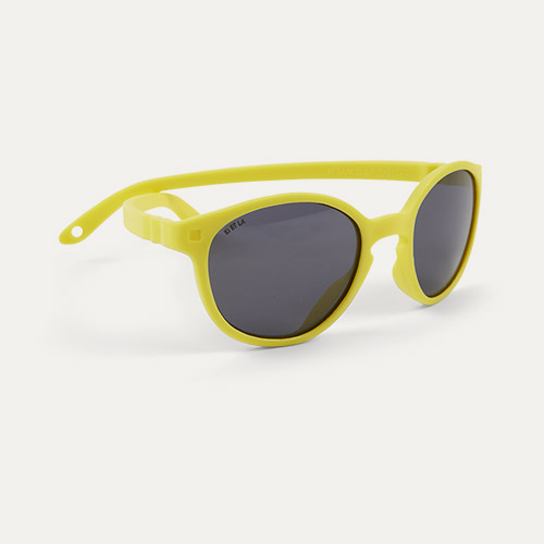 Yellow Ki ET LA WAZZ Wayfarer Sunglasses