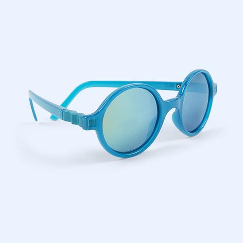 Peacock Ki ET LA Crazyg-zag ROZZ Round Sunglasses