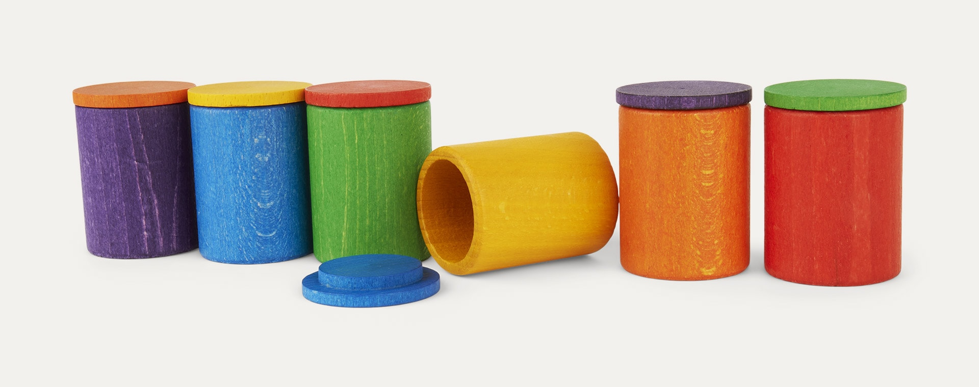 Multi Grapat Coloured Cups With Cover