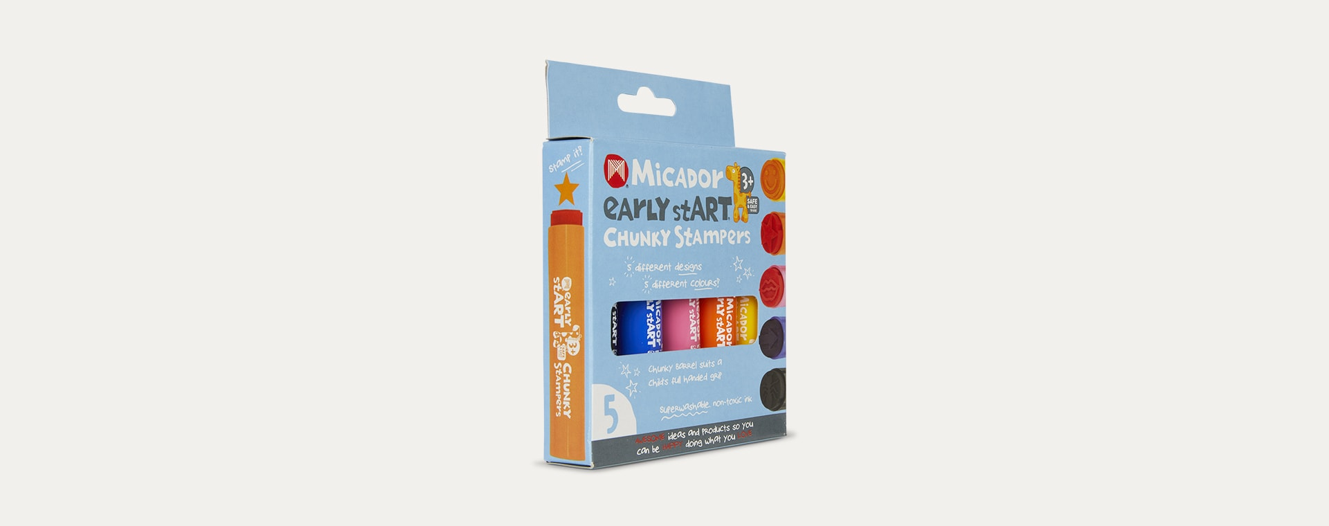 Multi Micador Early stART Chunky Stampers 5 Pack