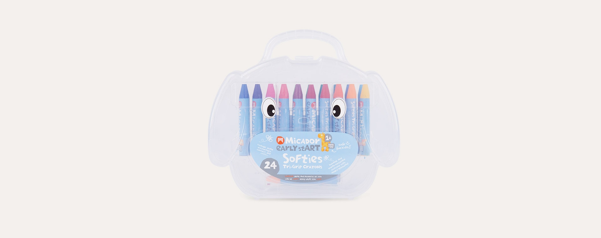Multi Micador Early stART Softies Tri - Grip Crayons