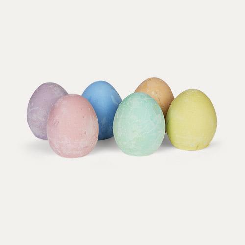 Multi Micador Early stART Egg Chalk 6 Pack