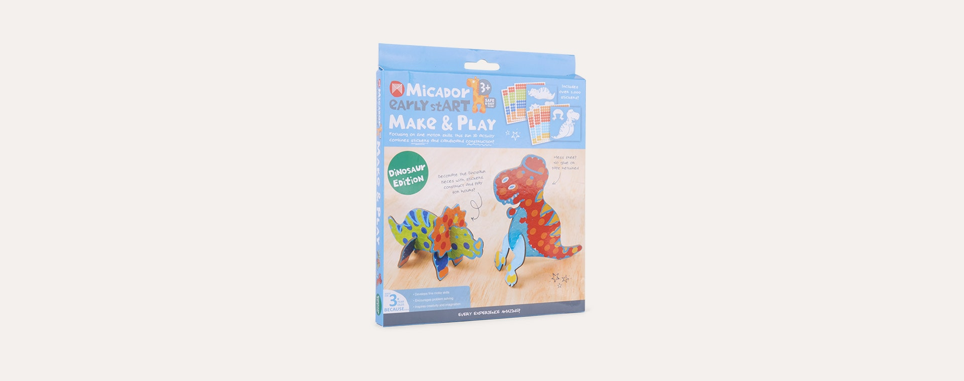 Dino Edition Micador Early stART Make & Play