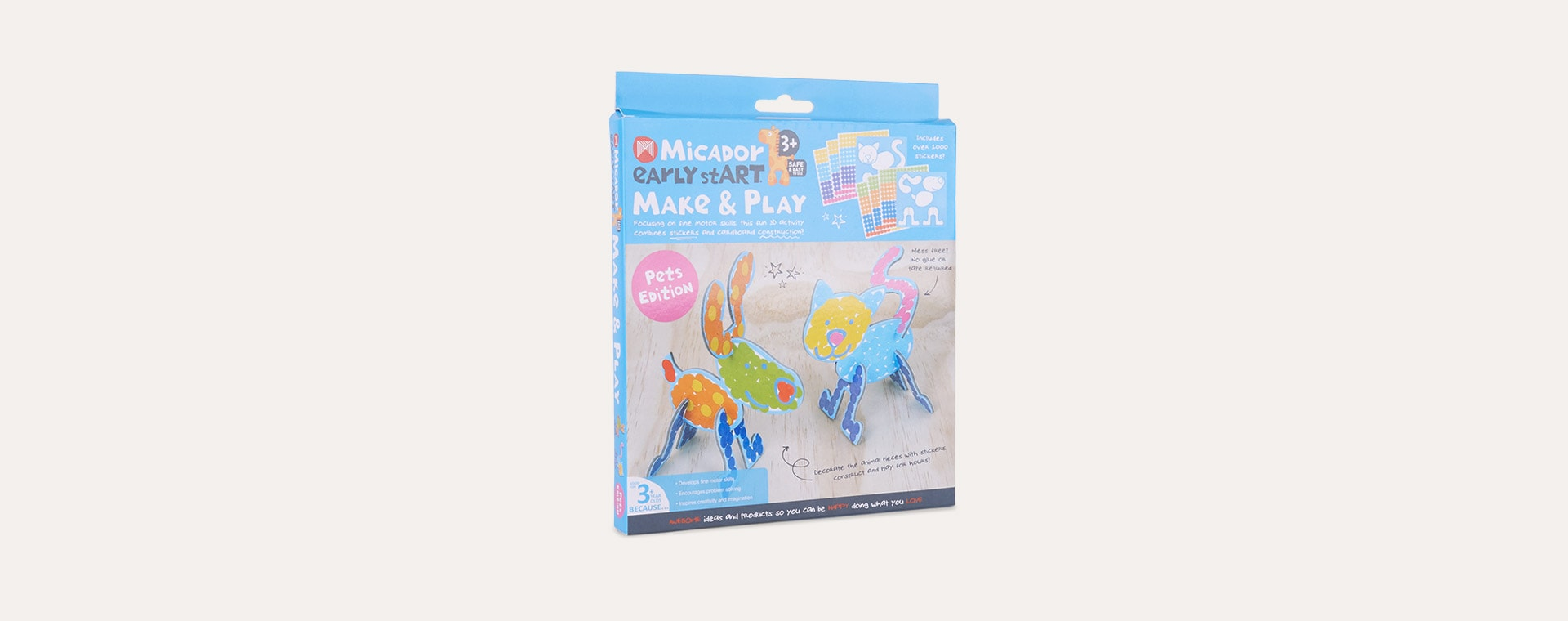 Pets Edition Micador Early stART Make & Play