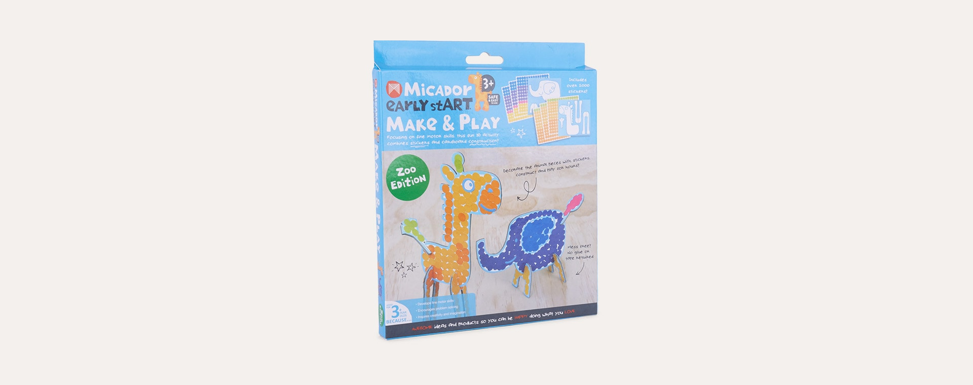 Zoo Edition Micador Early stART Make & Play
