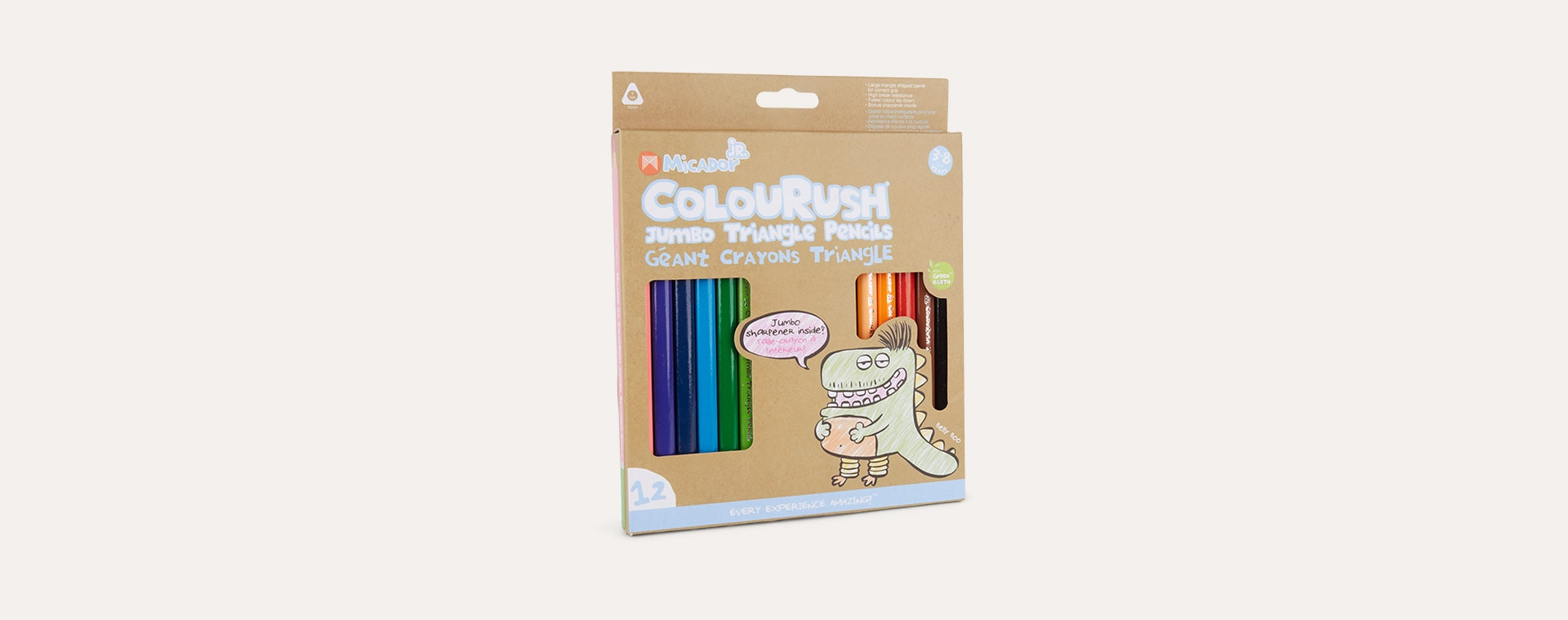 Multi Micador Micador Junior ColourRush Jumbo Pencils