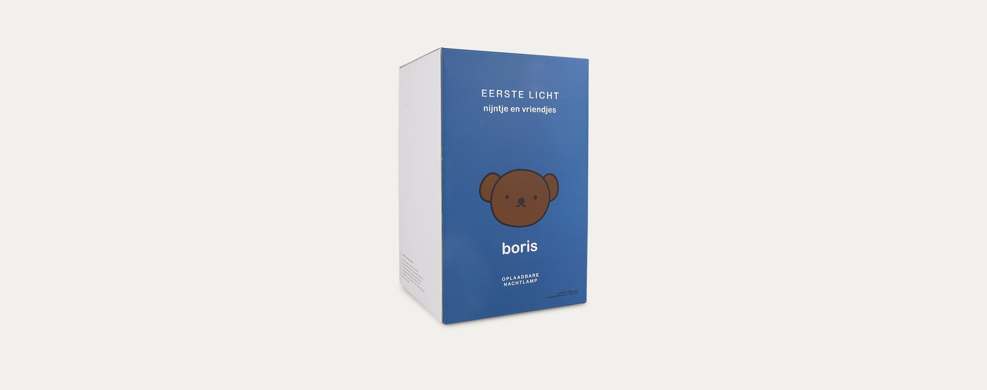 White Mr Maria Boris First Light Lamp