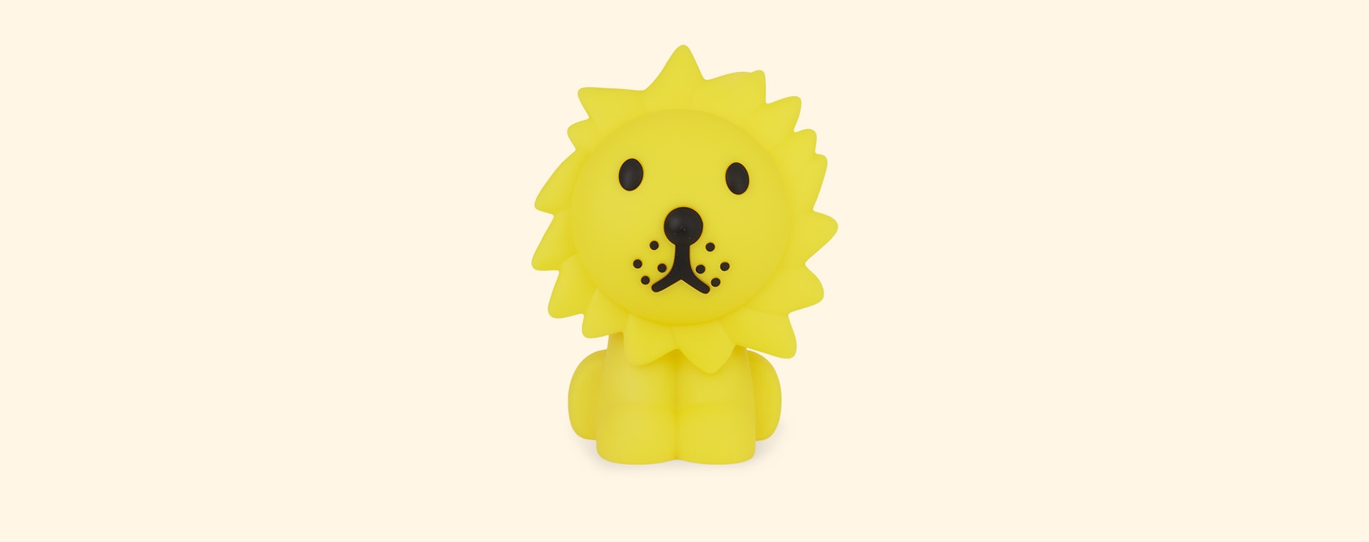 Yellow Mr Maria Lion First Light Lamp