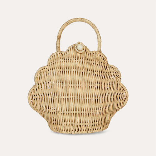 Straw Olli Ella Shell Purse