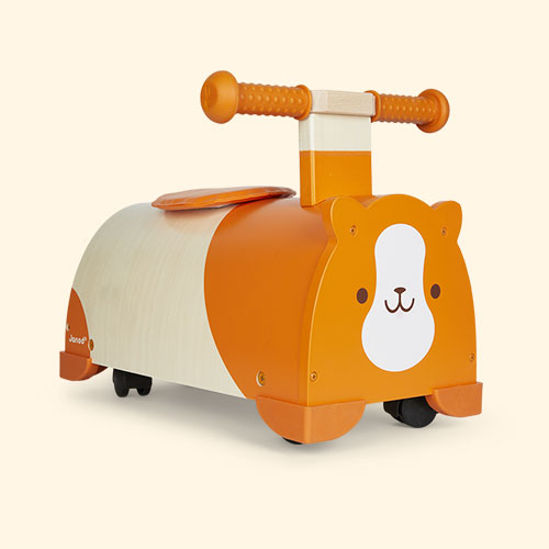 Orange Janod Hamster Ride On