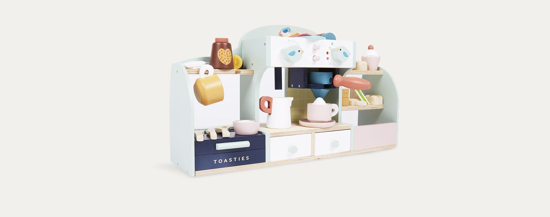 Multi Tender Leaf Toys Birds Nest Cafe