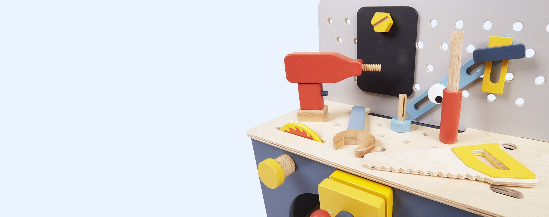 Multi Tender Leaf Toys Table Top Tool Bench