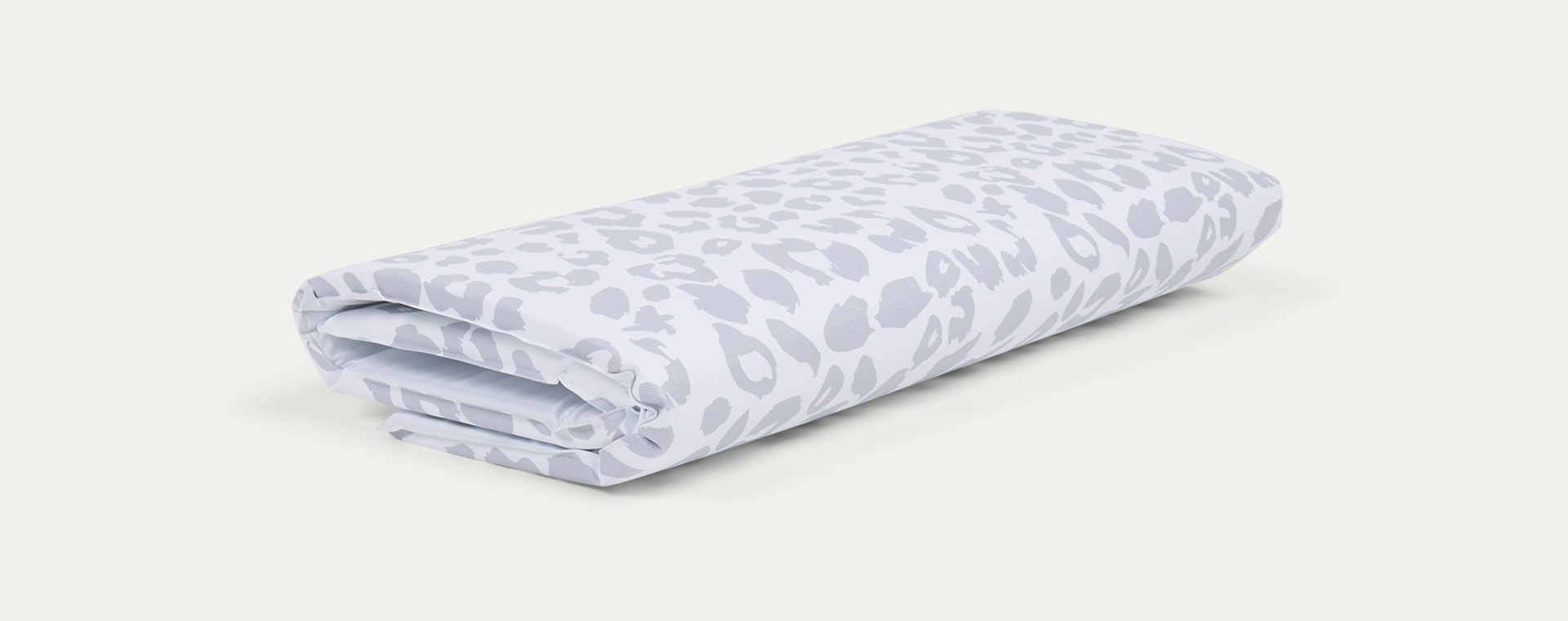 Grey Leopard Mabel & Fox Travel Change Mat