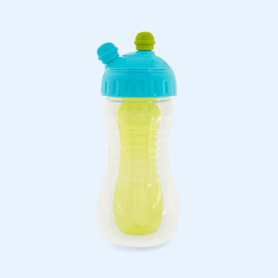 Blue Brother Max 2 Drinks in One Bottle