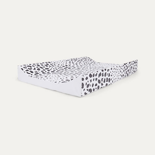 Monochrome Animal Mabel & Fox Wedge Changing Mat