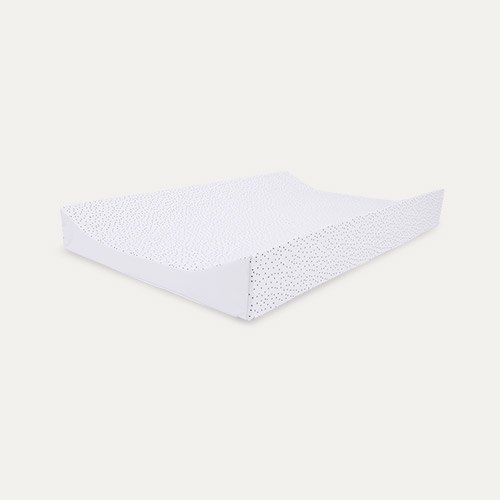 Monochrome Spotty Mabel & Fox Wedge Changing Mat