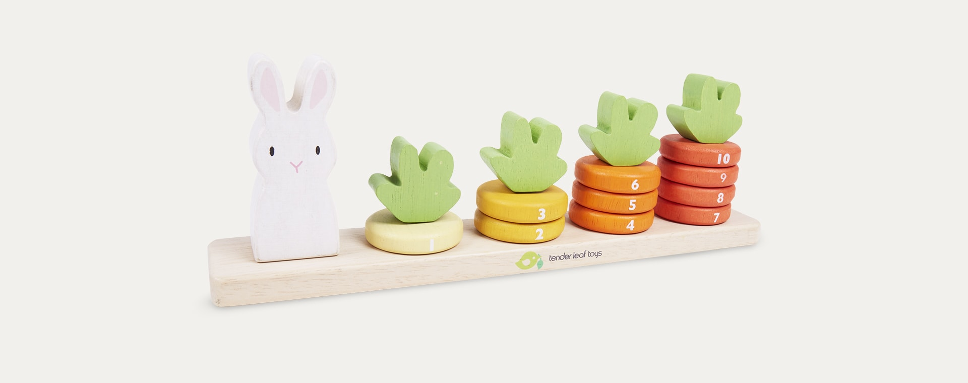 Multi Tender Leaf Toys Counting Carrots