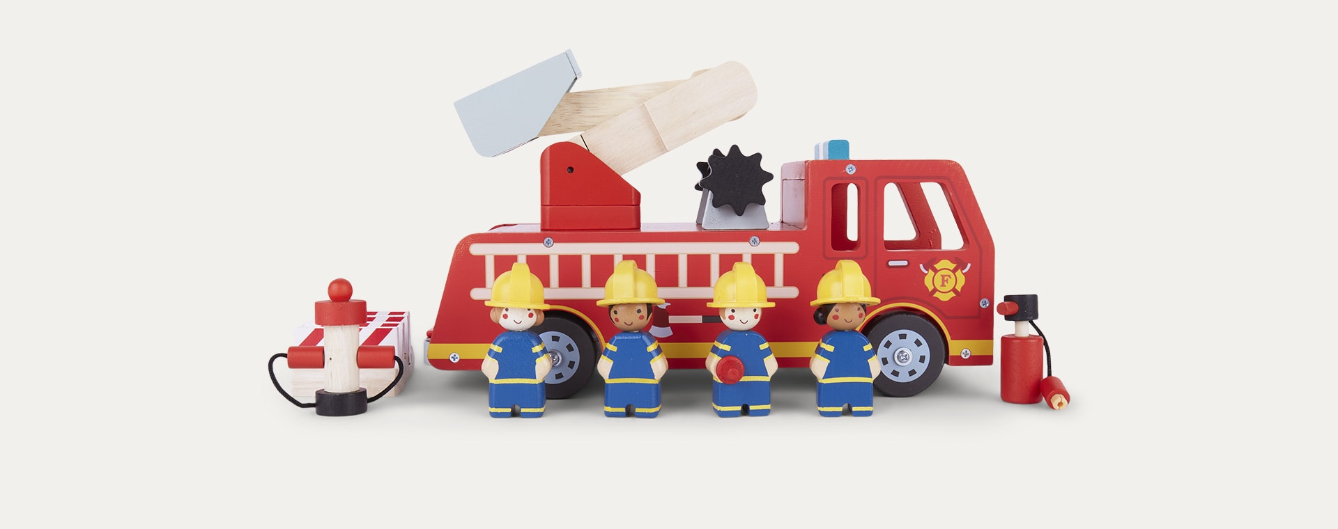 Multi Tender Leaf Toys Fire Engine