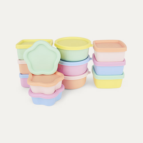 Pastels Rice Small Food Boxes