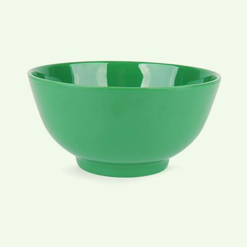 Forest Green Rice Melamine Bowl