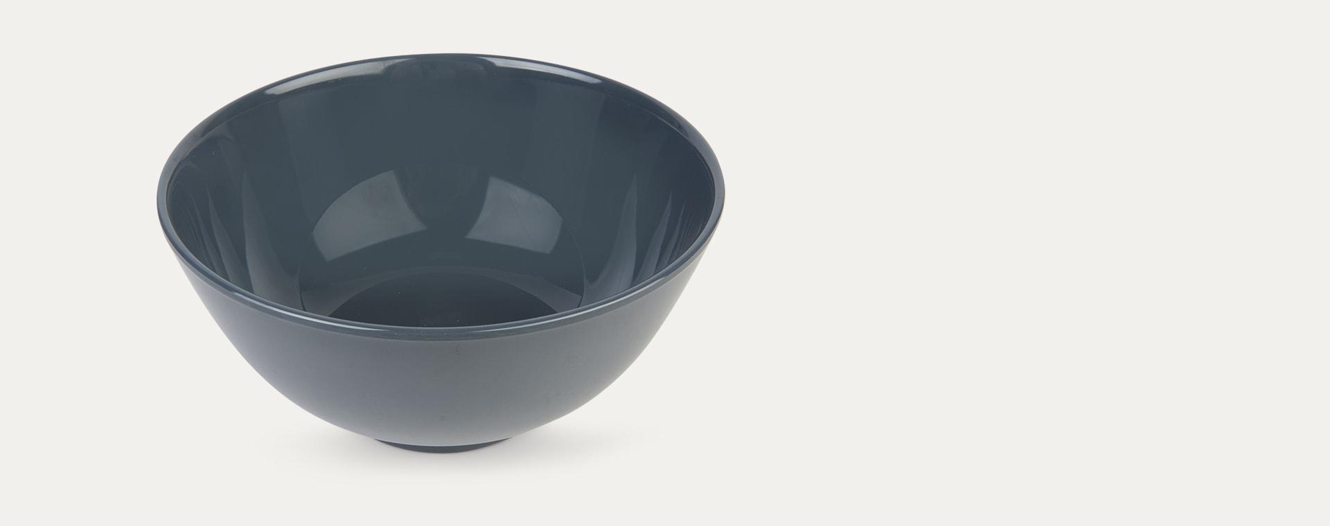 Dark Grey Rice Melamine Bowl