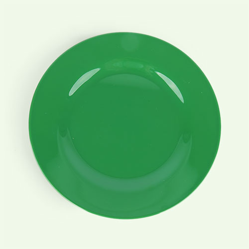 Forest Green Rice Melamine Plate