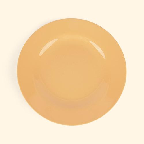 Apricot Rice Melamine Plate