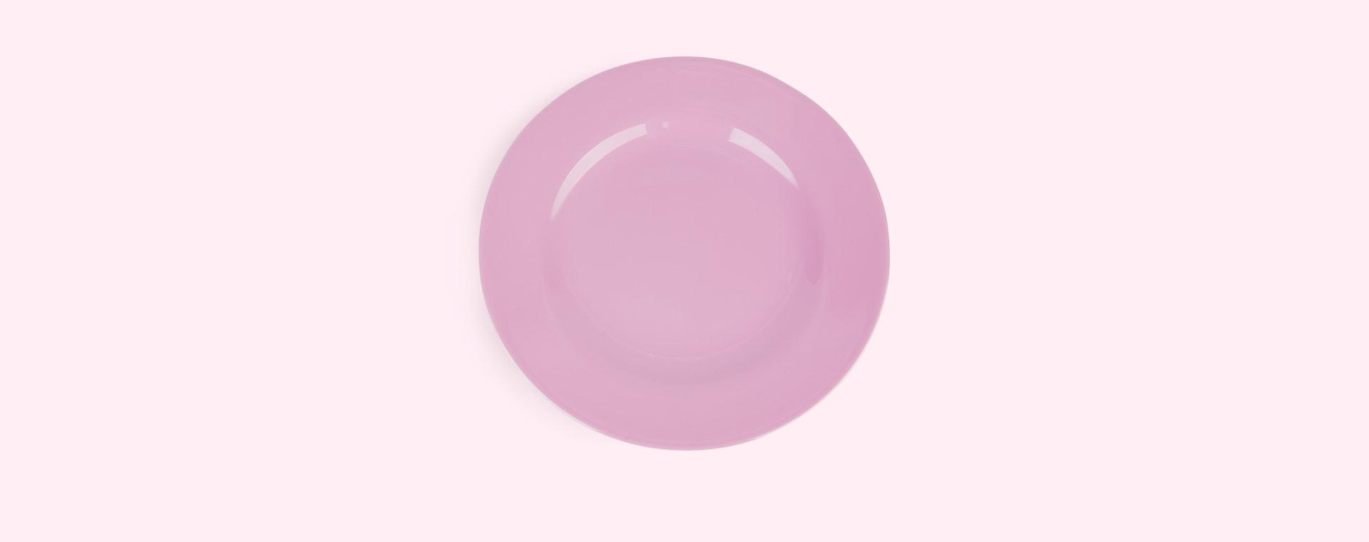 Taffy Pink Rice Melamine Plate