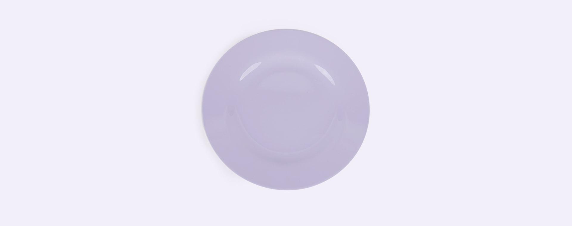 Soft Lavender Rice Melamine Plate