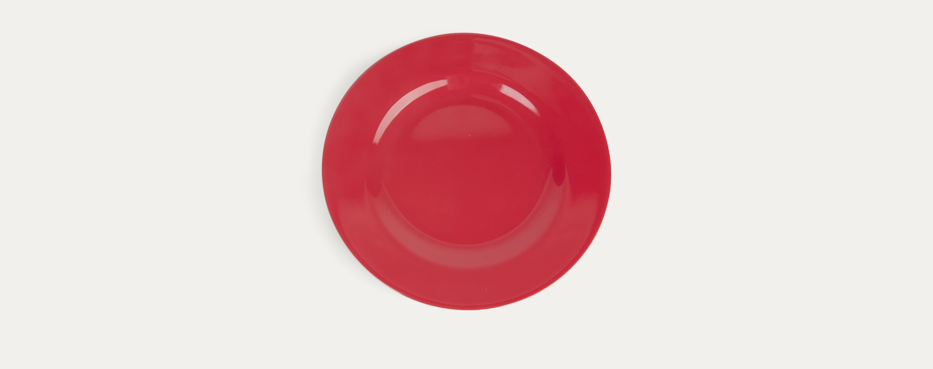 Red Kiss Rice Melamine Plate