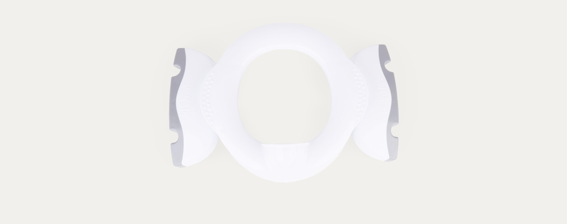 White Potette 3-in-1 Portable Folding Travel Potty & Toilet Trainer Seat