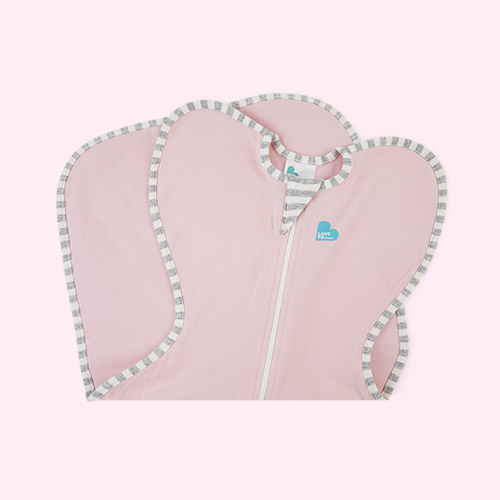 Pink Love To Dream Swaddle Up Original 1.0 Tog Sleeping Bag