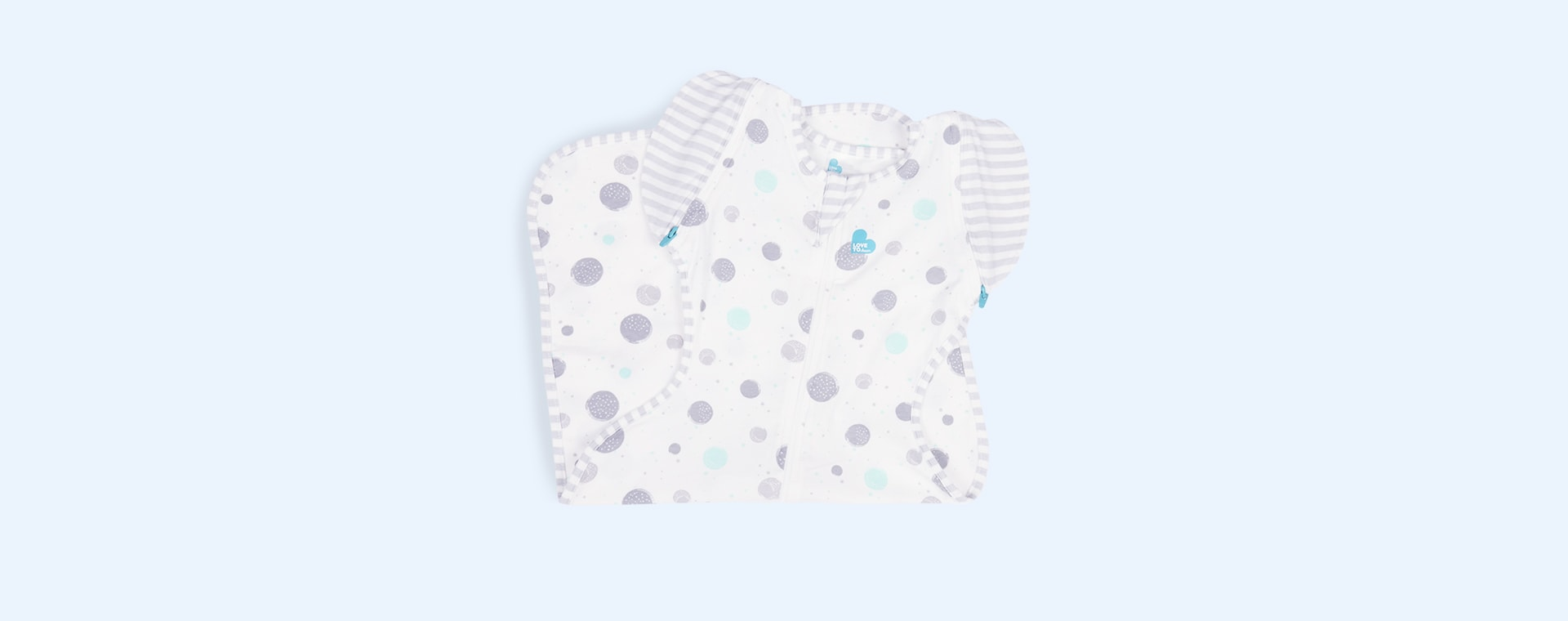 Circles Love To Dream Swaddle Up 50/50 Transitional 0.2 Tog Sleeping Bag Lite